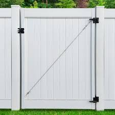Adjust A Gate Ii Privacy Solid Board Fence Gate Frame Steel Frame Building Kit For Vinyl Fence