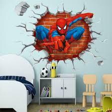 Spider Man Super Hero Web Spiders Customized Wall Decal Custom Vinyl Wall Art For Sale Online Ebay
