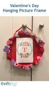 valentine s day hanging picture frame