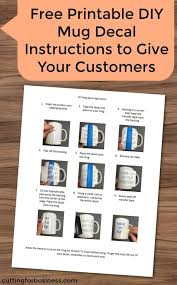 Free Customer Instruction Sets For Vinyl Decals And More Cutting For Business