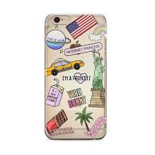 Travel Usa Sticker Patches Phone Case Pacific Bling