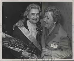 Jewell Smith, Alabama Mother of Year with friend Mabel Patton ...