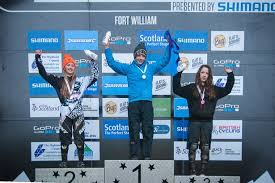 Stewartry Wheelers' Polly Henderson wins the ScottishPower Mini Downhill  Youth Series at Fort William - Daily Record