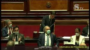 Informativa del Presidente Conte al Senato della Repubblica - YouTube