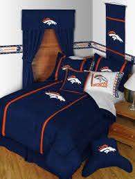 nfl denver broncos twin comforter