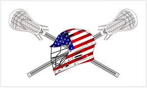 Amazon Com Cafepress American Flag Lacrosse Helmet Rectangle Bumper Sticker Car Decal Home Kitchen