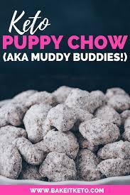 keto puppy chow aka low carb muddy