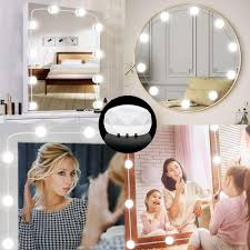 snagshout vanity mirror lights kit