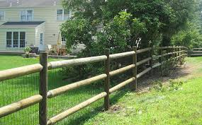 Round Rail Fencing 5 Star American Timber And Steel