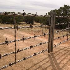 Custom Designed Barbed Wire Driveway Gate Metal Driveway Gates Farm Gate Farm Gate Entrance