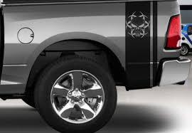 Product Dodge Ram Truck Vinyl Rear Side Bed Punisher Decals Mopar Rebel Hemi 5 7 Hellcat