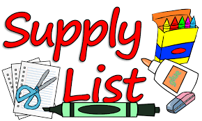 2019-2020 School Supply List – Hammond Elementary School