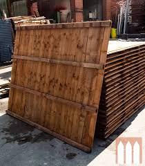 6 X 5 Feather Edge Fence Panel