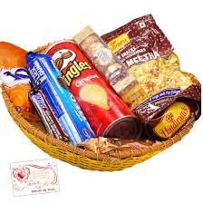 adorable gift basket haldiram namkeen