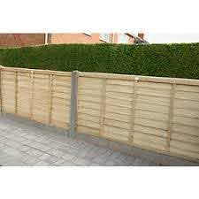 Forest Garden Pressure Treated Overlap Fence Panels 6ft X 4ft Wickes Co Uk