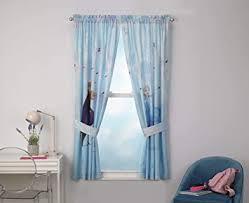 Amazon Com Curtains Disney Frozen 2 Kids Bedroom Panel Set Set Of 2 63 Inch L Furniture Decor