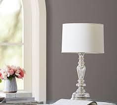 leera antique mercury glass table lamp