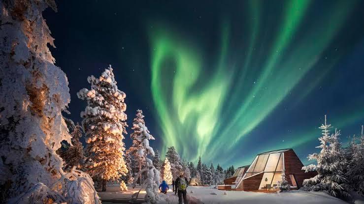 """finlandiya kuzey ışıkları ile ilgili görsel sonucu"""""""