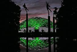 Lighting up Botanical Garden for the holidays is easier said than done |  Entertainment | stltoday.com