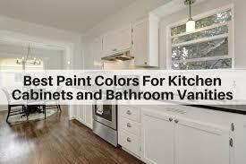 best paint colors for kitchen cabinets