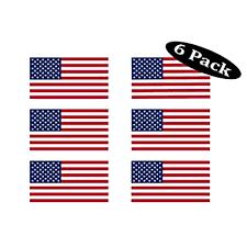 Amazon Com Small American Flag Decal