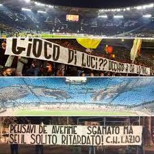 Roma - Lazio, la Nord e la finta scenografia: