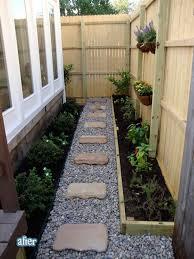 side yard landscaping backyard