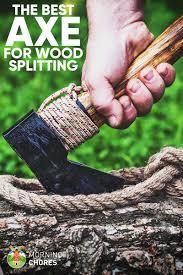7 best axe for splitting wood reviews