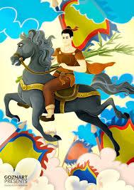 Truyện Cổ Tích Thánh Gióng/Fairy tale book cover