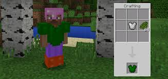 dyeable armor mod android minecraft