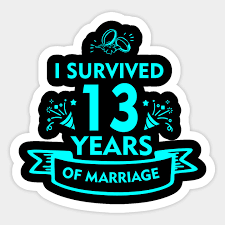 13rd wedding anniversary gifts for