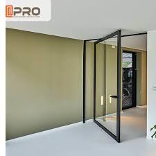 glass pivot door pivot glass door
