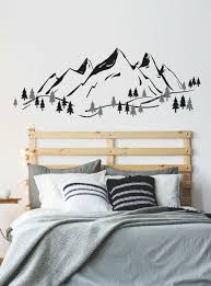 Isabelle Max Mountain Wall Decal Wayfair