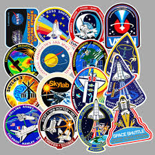 Amazon Com Vinyl Space Stickers Universe Nasa Stickers Pack 45 Pcs Space Explorer Stickers Astronaut Decals For Laptop Ipad Car Luggage Water Bottle Helmet Computers Accessories