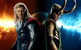 thor and loki wallpapers wallpaper cave