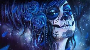 sugar skull magicnaanavi rose