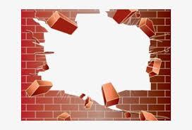 Bricks Clipart Broken Brick Transparent Brick Wall Png Transparent Png 640x480 Free Download On Nicepng