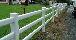 White Post Rail Fence Systems