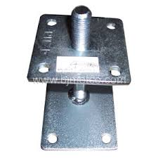 China Column Shoe Adjustable Post Support China Fence Fitting Fence Support