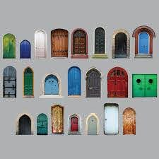 Fairy Door Wall Decal Collection 2 By Inkwood Impressions On Zibbet