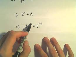 solving exponential equations some