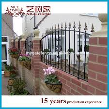 Philippines Gates And Fences Decorative Garden Fencing Cast Iron Fence Finials View Philippines Gates And Fences Yishujia Product Details From Shijiazhuang Yishu Metal Products Co Ltd On Alibaba Com