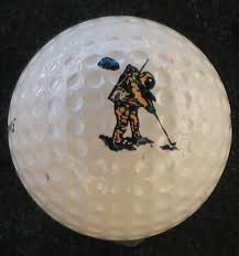 Alan Shepard Spalding Astronaut on The Moon Golf Ball on PopScreen