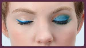 it s not the 80s but blue eye shadow