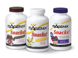 isagenix snacks cleanse