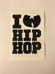 Wu Tang Clan Hip Hop Vinyl Decal Sticker Rap Stickers