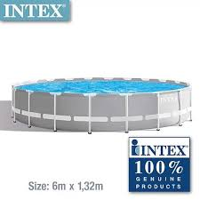Intex 26756 Prism Frame Round Pool 20ft X 52in Intex Philippines