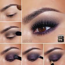 diy makeup tutorials plum smokey