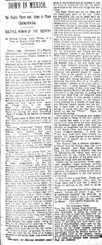 Ida Wright letter about Mexico 1892 - Newspapers.com