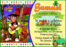 Tarjeta O Invitacion Digital Imprimible La Granja De Zenon Bs